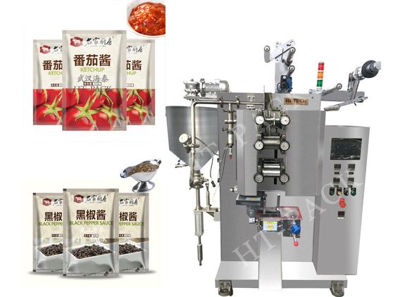 武汉海泰肉酱包装机 全自动浓缩高汤包装