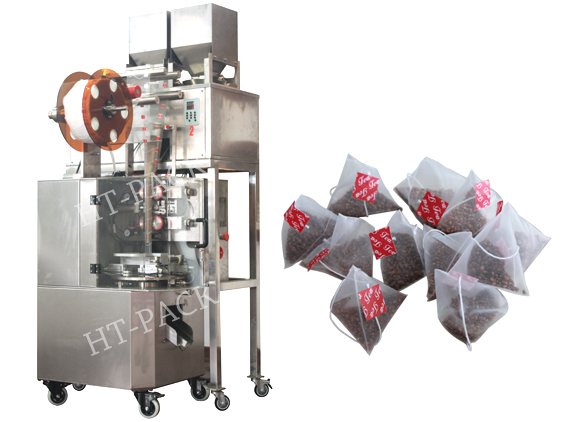 茶叶包装机 HT-SJB02尼龙三角包茶叶包装机