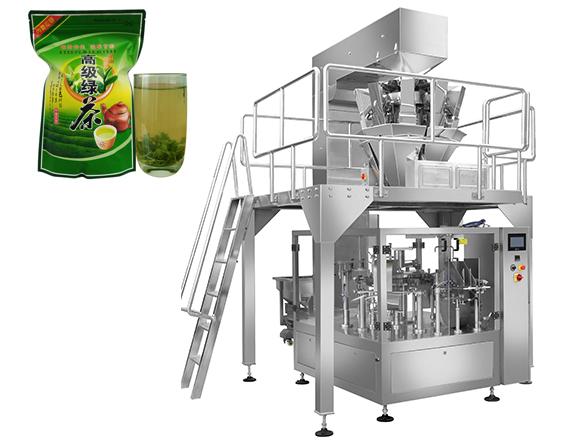 预制袋茶叶包装机  拉链自立袋茶叶包装机