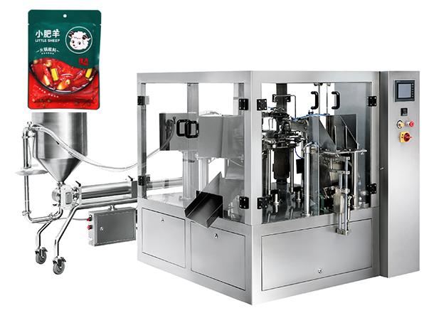 带你了解新型机器,给袋式酱料包装机