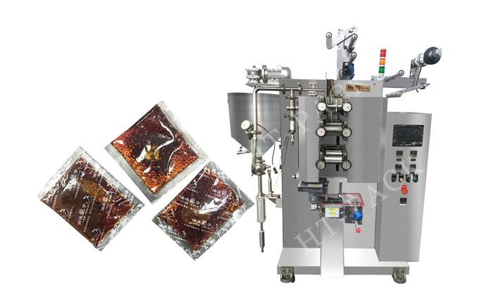 螺蛳粉调料包装机   是怎么做到精确计量完美包装的